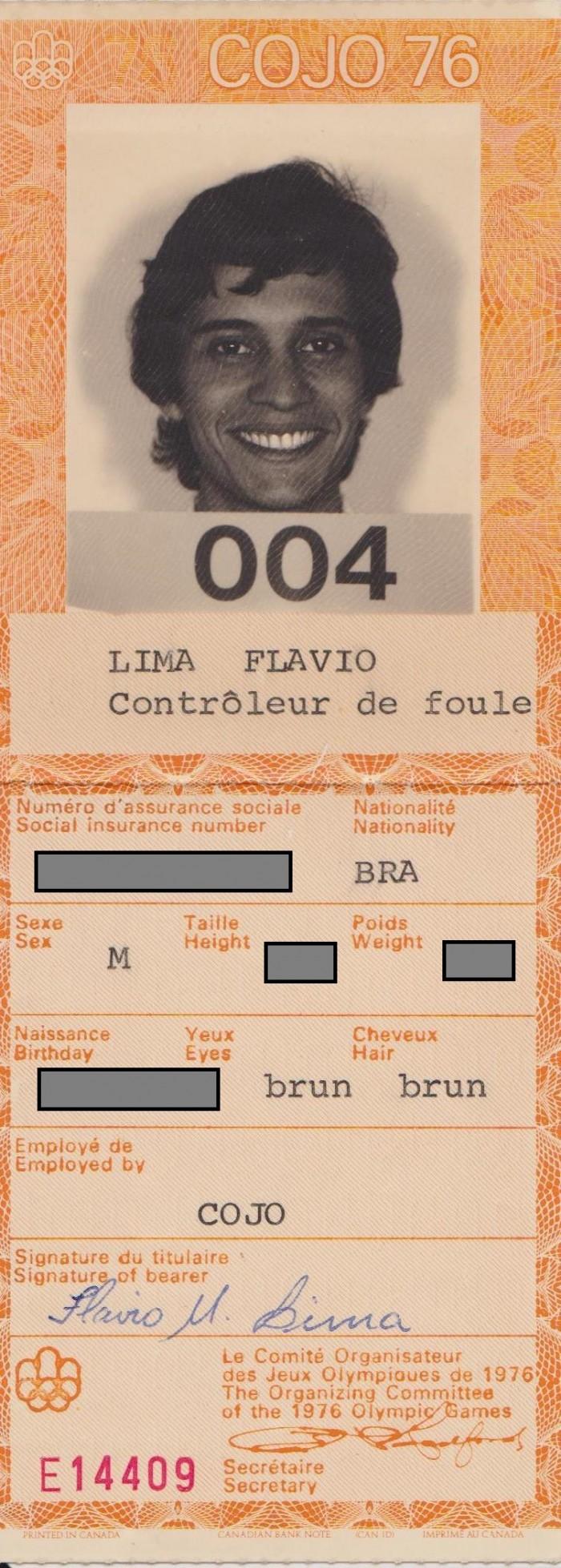 Crachá Jeux Olympiques 1976